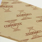 Coppertex protects copper, brass, bronze, and other copper alloys from tarnish and corrosion