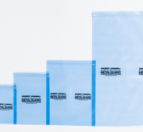 protect metal parts with Premium Metal Guard PMG VCI film recloseable bags
