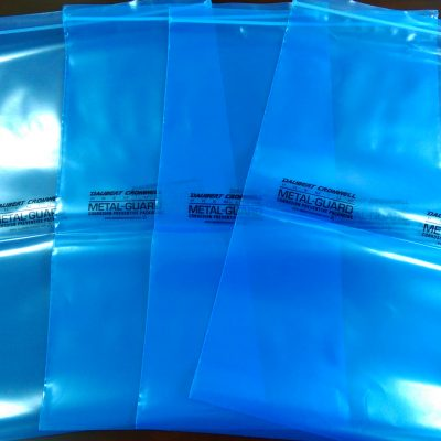 Corrosion protection Premium Metal Guard VCI Poly Bags Recloseable