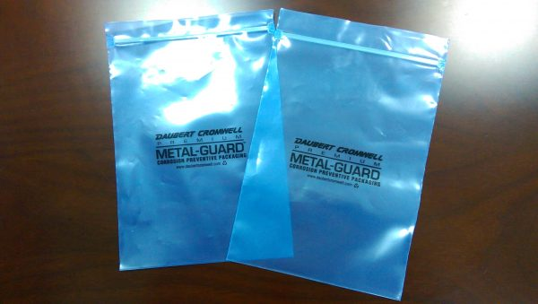 protect metal parts with VCI Poly Bags Recloseable 4x6