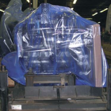 PMG VCI blue-shrink-film